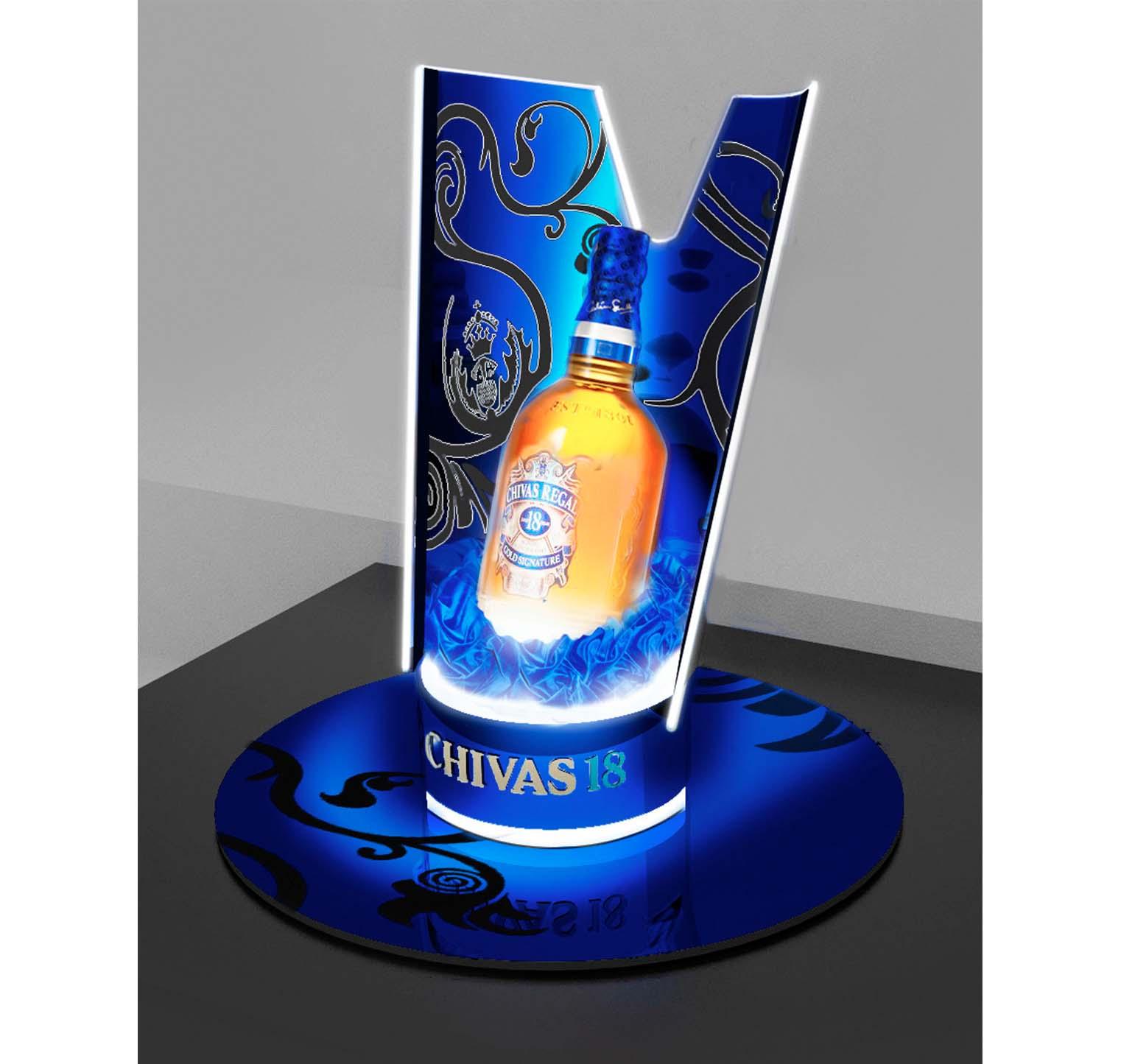 Curved Illuminated - Chivas