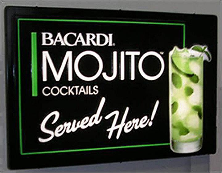 Bacardi Mojito Cocktails